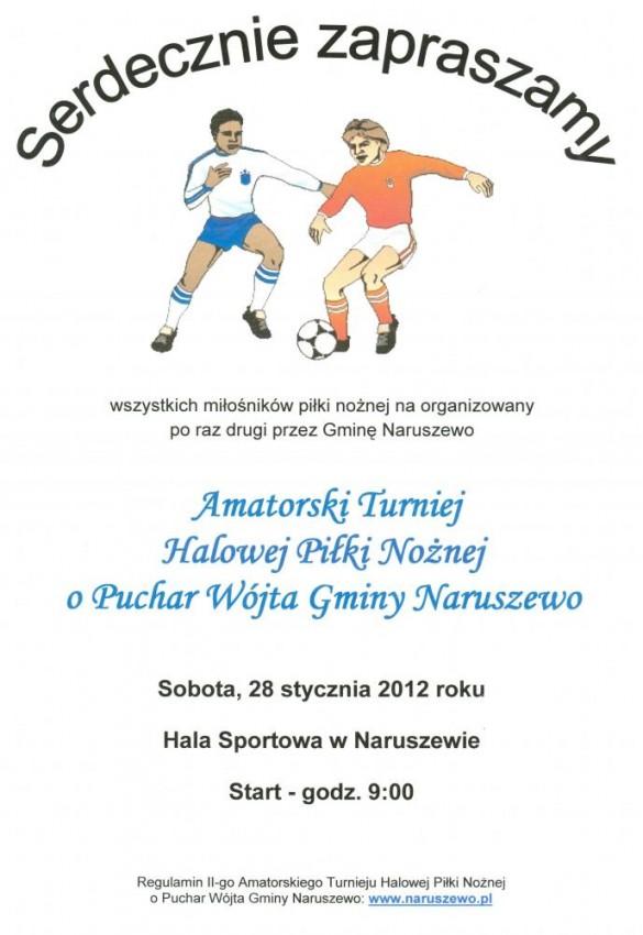 Naruszewo Zaproszenie Na Turniej
